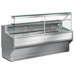 Comptoir-vitrine réfrigérée vitre droite L2500mm
