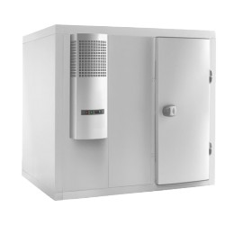 Chambre froide démontable complète négative -18°/-23°C - L2000xl1400mm
