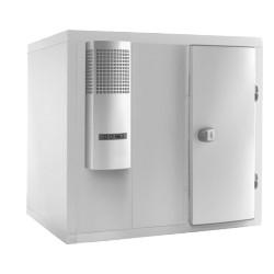Chambre froide démontable complète négative -18°/-23°C - L2300xl1400mm