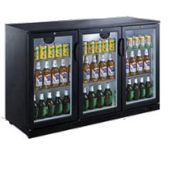 Arrière bar compact 3 portes battantes H.920mm