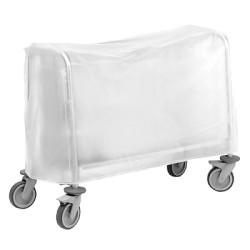 Housse PVC pour chariot 200 assiettes