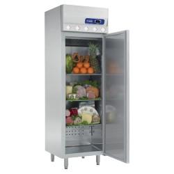 Armoire inox réfrigérée compacte slim line plus 400L