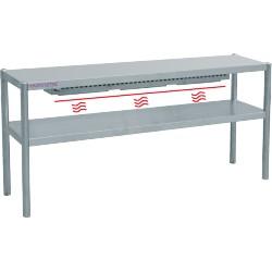 Rampe chauffante 2 niveaux - L1600xP350xH700 mm
