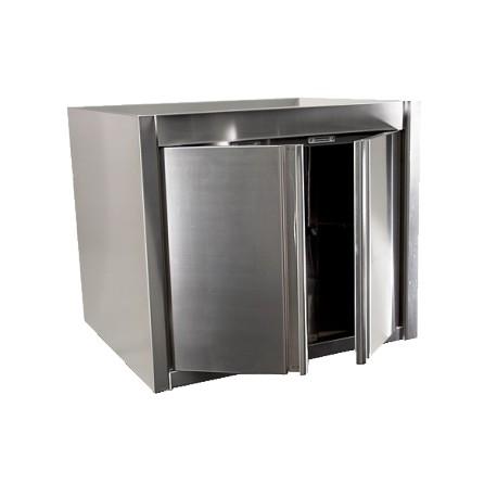 Placard suspendu inox portes battantes 800 x 400 x 650 mm achat placards inox for Placard exterieur