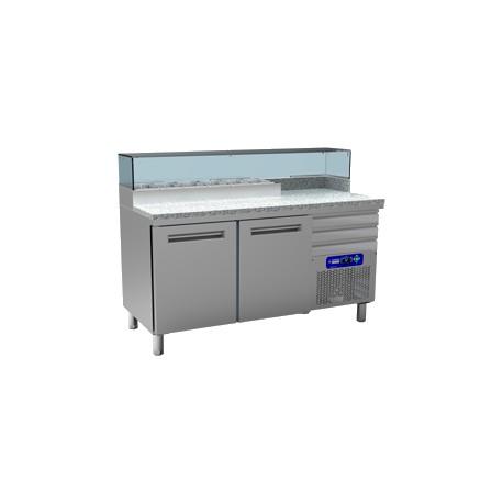 table frigo pizza 600x400 2 ou 3 portes achat tables pizza. Black Bedroom Furniture Sets. Home Design Ideas