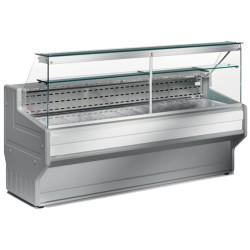 Comptoir-vitrine réfrigérée vitre droite L2000mm