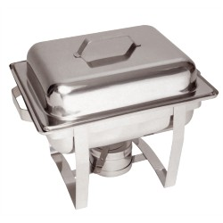 Chafing dish GN 1/2 à combustible
