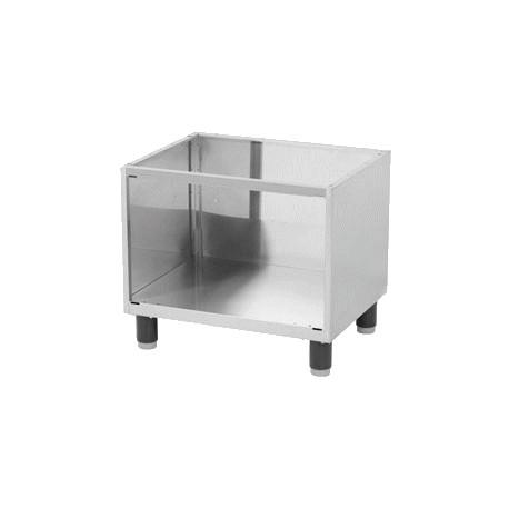 Meuble support inox 660 mm sans portes achat planchas Meuble helline