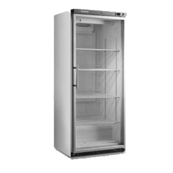 Armoire vitrée réfrigérée blanche snack positive 600 Litres
