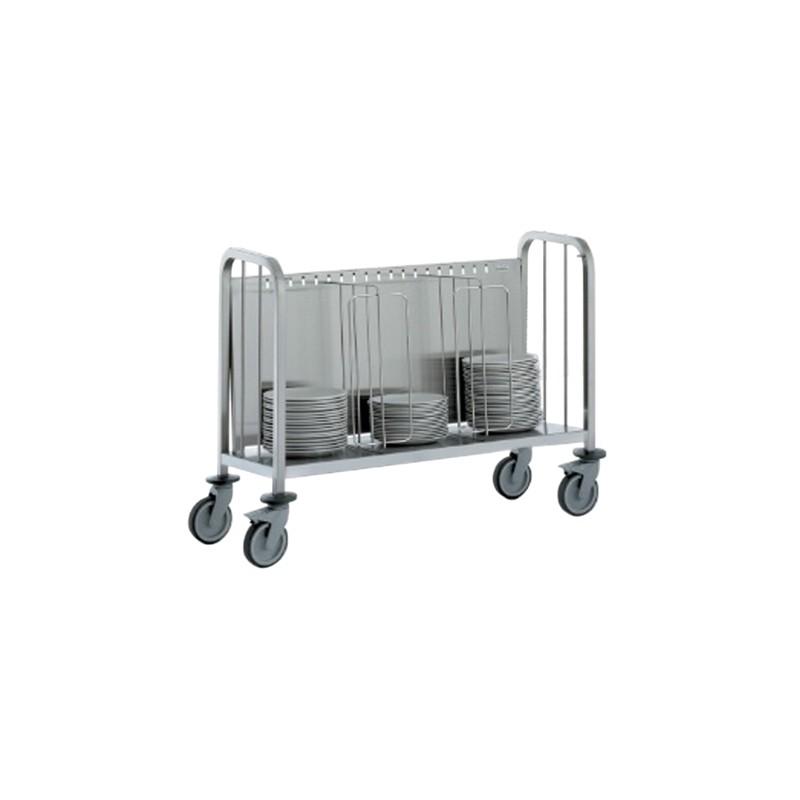 Chariot porte assiettes pour 200 assiettes achat for Porte assiettes pour cuisine